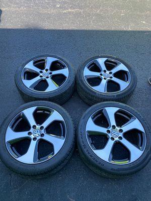 Rims 18 Volkswagen 5 lugs 112 mm for Sale in Davie, FL