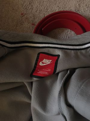 Nike grey jacket without hoody for Sale in Groveport, OH