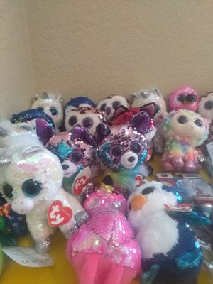 TY STUFFED ANIMALS BRAND NEW! for Sale in Plano, TX