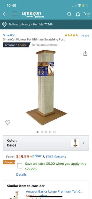 Cat scratching post for Sale in Humble, TX