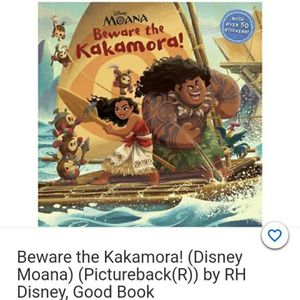 Children's Book- Moana Beware the Kakamora! for Sale in Bristol, CT