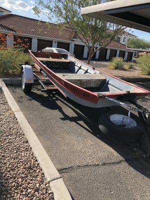 14' John boat for Sale in Mesa, AZ
