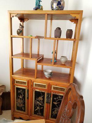 Display antique cabinet for Sale in Elkridge, MD
