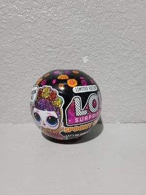 Lol Suprise Spooky Sparkle Limited Edition for Sale in Hacienda Heights, CA