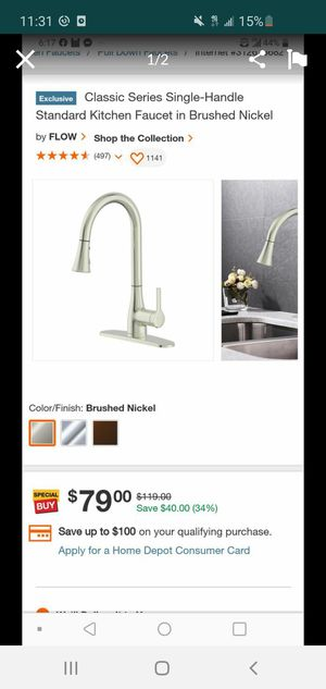 Kitchen faucet for Sale in Downey, CA