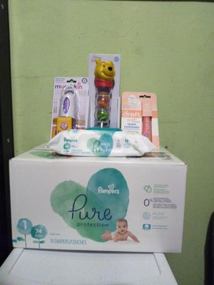 Pampers pure size 1 for Sale in Philadelphia, PA