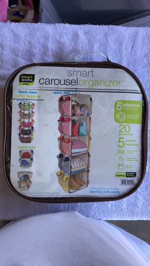 Spinning closet carousel organizer. NIP for Sale in West Palm Beach, FL