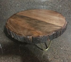 Cake Stand / Wood and Gold Metal / Wedding for Sale in San Marcos, CA