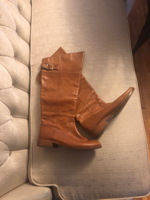 Mid Calf Leather Coach Boots - Women's sz 7.5 for Sale in Raleigh, NC