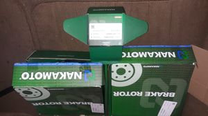 Nakamoto rotors and brake pads for Sale in St. Louis, MO