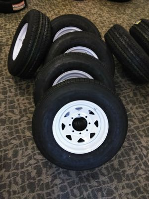 Brand New Trailer Wheels with Tires for Sale in Fayetteville, GA