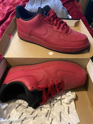 Size 11 red black bottom Nike shoes for Sale in Peabody, MA