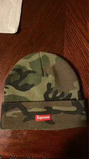 Supreme woodland camp beanie for Sale in Fresno, CA