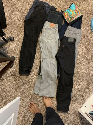 Free Clothes shirts either L or Xl jeans 32-34 for Sale in Tacoma, WA