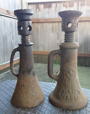 Set of Two (2) Vintage Farmhouse Jacks for Sale in Dundee, OR