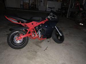 Pocket bike, 40cc motor, pocket bike frame, Custom for Sale in Katy, TX