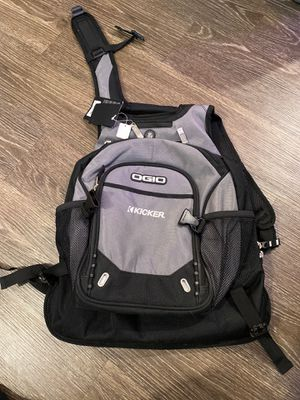 Ogio Kicker Audio backpack new laptop audio for Sale in Lake Elsinore, CA