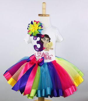 Moana Rainbow Tutu Set for Sale in San Antonio, TX