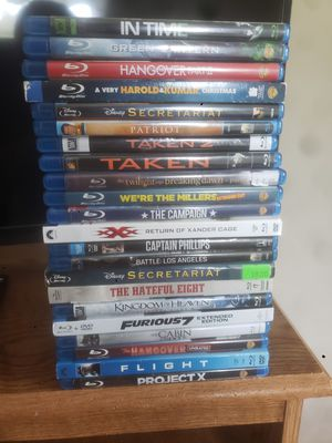Lot of BluRay Movies for Sale in Cogan Station, PA