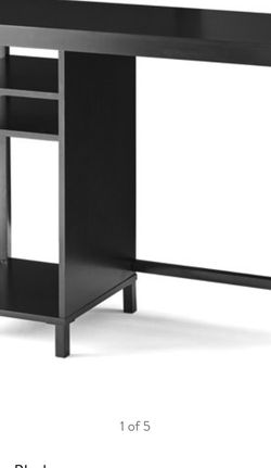 Mainstays Sumpter Park Cube Storage Desk, Black Finish for Sale in Los Angeles,  CA