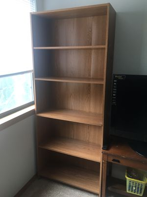 6' tall bookshelf, shelves, bookcase (@ Tigard) for Sale in Tigard, OR