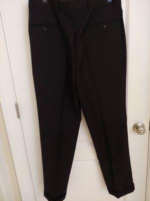 Hickey Freeman Black 100% Wool Pleated Men's Dress Pants for Sale in Raleigh, NC