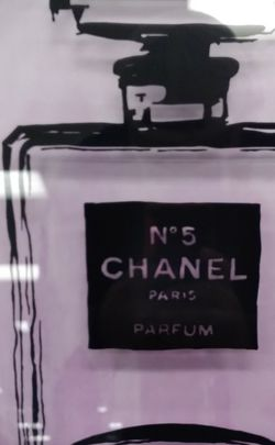 Chanel Paris No 5 Perfume Framed Limited Edition Wall Art 11 x 14 for Sale in Glendale,  CA