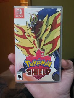 Pokemon Sheild Nintendo Switch OPEN, NOT USED for Sale in Des Moines,  WA