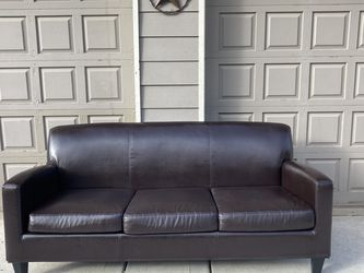 Dark Brown Sofa Like New for Sale in Beavercreek,  OR