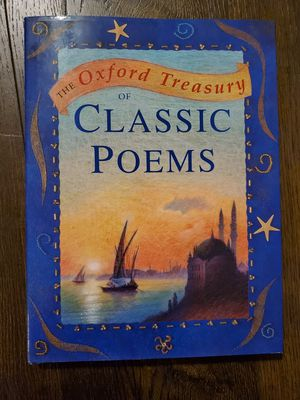 Kids Book- The Oxford Treasury of Poems, Hardcover Like New, Ages 8+ for Sale in Vancouver, WA
