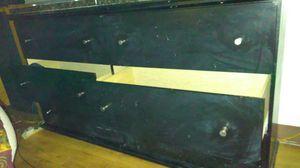 Black 6 drawer dresser for Sale in Denver, CO