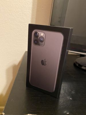 iPhone 11 Pro box for Sale in Apache Junction, AZ
