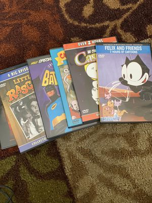 Cartoon Classics and other All six for $4.00 for Sale in Sugar Grove, IL