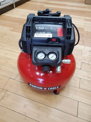 Porter Cable 6Gal. Pancake Air Compressor C2002 for Sale in Framingham, MA