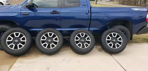Toyota Tundra TRD rims and tires for Sale in Nevada, TX