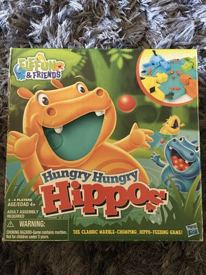 Hungry Hungry Hippos Game for Sale in Tempe, AZ