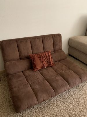 Brown floor futon for Sale in Vancouver, WA