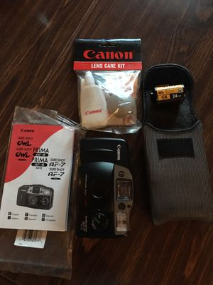 Canon sure-shot AF7 camera for Sale in Apex, NC