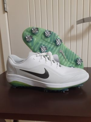 Nike Air Zoom Precision Golf Shoes White Black Volt 866065-100 Men's for Sale in Chula Vista, CA
