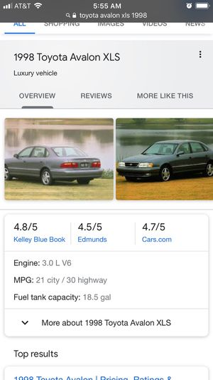 Toyota Avalon come take what you want from it I'll give the part for what u can pay or trade - or whole car. It is really a great car with a lot of l for Sale in Orem, UT