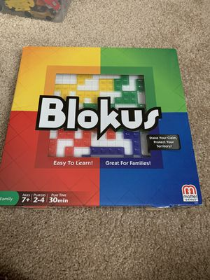 Blokus family game for Sale in Germantown, MD