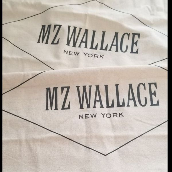 2 MZ Wallace designer handbag dust bags New FIRM, SHIPS ONLY