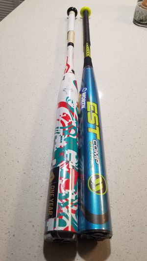 2018 Demarini Mercy & 2018 Worth EST ASA bats For trade or sale. for Sale in Anaheim, CA
