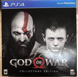 God of war CE for Sale in Fairfax, VA