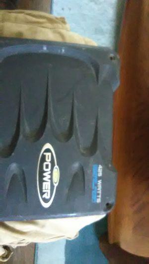 Jensen power 2/1 channel amplifier 425 watts for Sale in St. Louis, MO