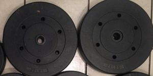 "Pair of 25 lbs standard weight plates for sale! 1"" hole. for Sale in Lakewood, CA"