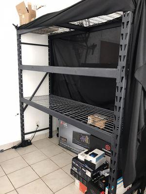 Heavy duty - Metal shelves for Sale in Miami Beach, FL