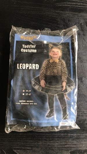 Leopard toddler costume for Sale in Hayward, CA