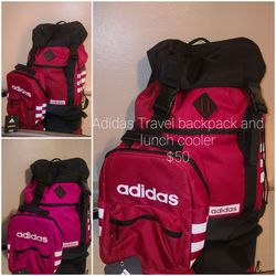Travel Backpack And Lunch Cooler New Adidas for Sale in Wheeling,  IL