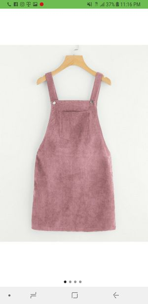 Women's pink overall dress for Sale in Los Angeles, CA